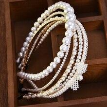 New Luxury Big Pearl Headband