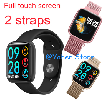 IP68 Waterproof Smart Watch 1.3 inch full touch screen Heart Rate Bluetooth Bracelet Message Reminder Smart Band pK B57 P68 P70