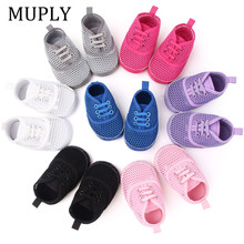 0-18M Baby Sneakers Toddler Baby Boys Girls First Walkers For Newborn Bebes Shoes Boy Fashion Breathable Shoes