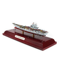Chinese 001A 1/700 Aircraft Carrier Alloy Nautical Warship Battleship Model Toys