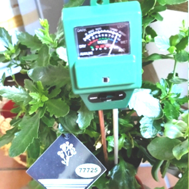 PH miernik cyfrowy Tester 3 in1 wilgotność gleby światło słoneczne rośliny kwiat kwasowość pomiar temperatury ogród anale narzędzie stacja pogodowa