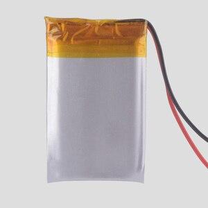 Image 3 - 612338 3.7V 800mAh akumulator do zabawek proso GPS TEXET FHD 570 dvr 3gp Gmini HD50G HD70G iBox Pro 800 602338