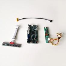 """ل N154I2 L01/L02/L03 LVDS 30Pin CCFL HDMI DVI راصد بالطيف الضوئي في جي إيه لوحة م. NT68676 جهاز تحكم بالشاشة محرك مجلس 1280*800 15.4 """"عدة"""