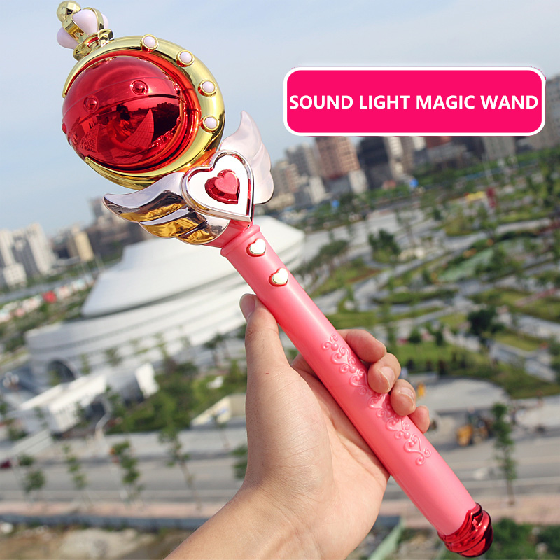 Fairy Magic Wand Children's Toys Luminous Toys Family Toys Birthday LED Light Party Girls'Birthday Gifts