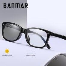 Мужские и женские фотохромные очки banmar анти синий светильник