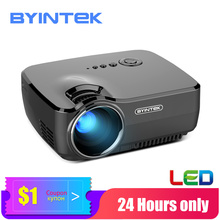 BYINTEK Mini Projektor GP70, Tragbare Heimkino Beamer,LED Proyector für 1080P 3D 4K Kino