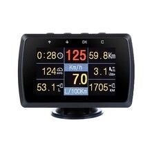 CXAT X501/A501C çok fonksiyonlu akıllı araba OBD HUD dijital metre arıza kodu Alarm ekranı