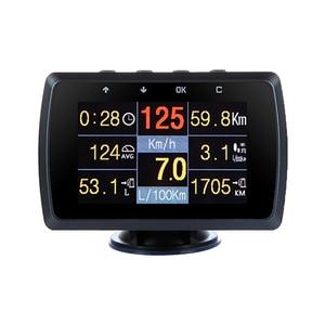 Image 1 - CXAT X501/A501C wielofunkcyjna inteligentny samochód OBD HUD miernik cyfrowy kod błędu Alarm z ekranem