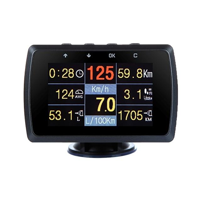 CXAT X501/A501C wielofunkcyjna inteligentny samochód OBD HUD miernik cyfrowy kod błędu Alarm z ekranem