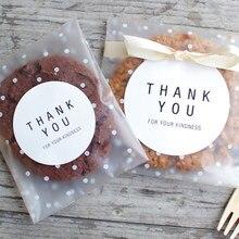 100 pçs saco de doces celofane diy plástico transparente festa de casamento armazenamento cozinha suprimentos biscoitos lanche doces sacos de embalagem
