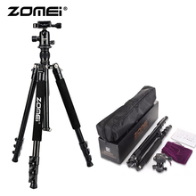 ZoMei Q555 Lightweight Tripod Portable Travel Camera Stand with 360 Degree Ball Head and Carry Bag for SLR DSLR Digital