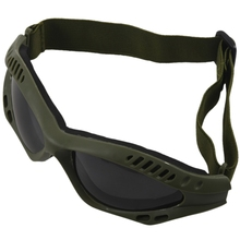 Air soft glasses Paint ball gotcha Protection Glasses Scratch-resistant Olive One Size Army Green