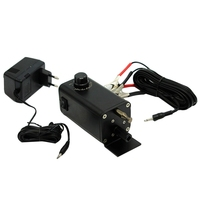 3 12V Oven Motor Dc Barbecue Motor With Fish Line And Adapter Bbq Grill Rotisserie Motor Electric Motor With Multiple Speed,Eu P