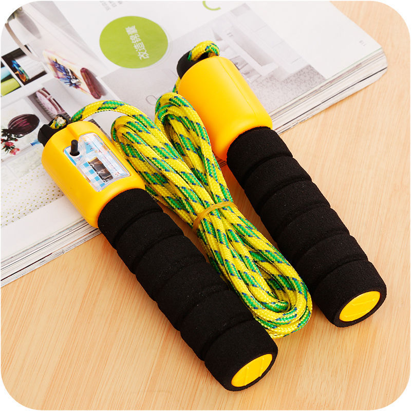Children Jump Rope Adjustable Kindergarten Young STUDENT'S Exam Jump Rope Count Jump Rope Beginners Adult Count Jump Rope