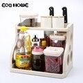 Кухонные стеллажи в скандинавском стиле  двойная полка  принадлежности для приправ  стеллаж для хранения  ванная комната  инструмент для пр...