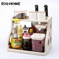 Küchen Nordic Stil Racks Halter Doppel Regal Würze Liefert Speicher Rack Bad Lagerung Gewürz Werkzeug Klären Halter|Regale und Halter|   -