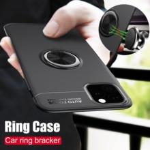 Case voor iPhone 11Pro Max XR XS 5 6 7 8 X TPU Verborgen Kickstand met Auto Magneet Case voor iPhone 6 7 8 Plus XS MAX 11 Cover Fundas