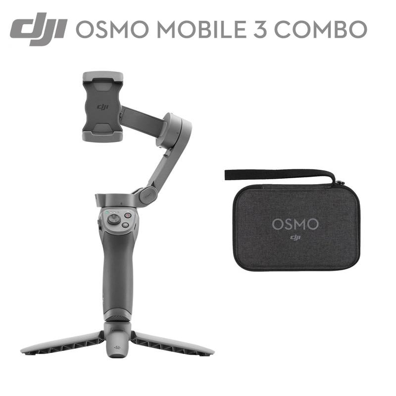 DJI Osmo Mobiele 3/Combo 3 EEN xis opvouwbare Gimbal Stabilizer voor smartphones intelligente functies