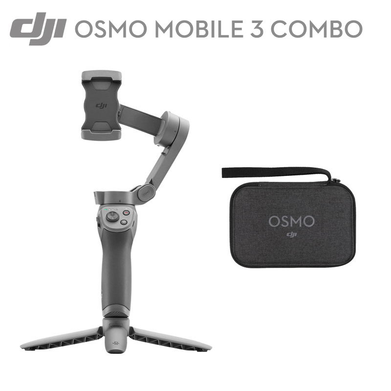 DJI Osmo Mobile 3/Combo 3 A stabilisateur de cardan pliable xis pour fonctions intelligentes smartphones