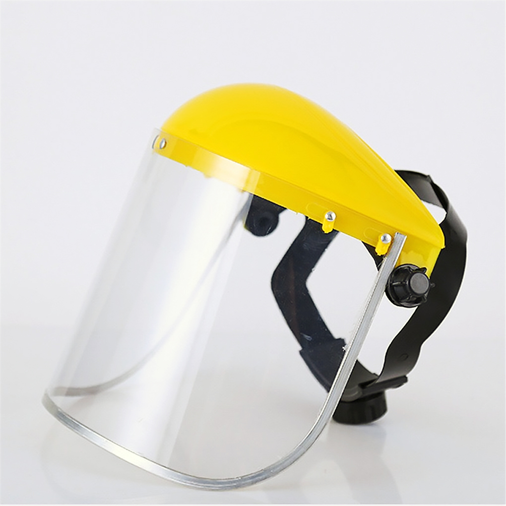 Full Face Protective Mask Shield Head Mounted Face Protection Screen For Welding Work
