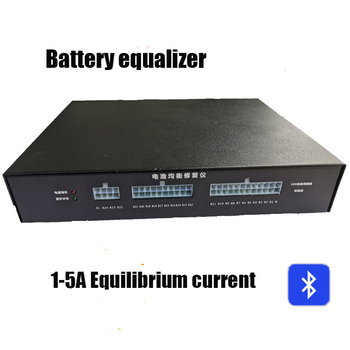 Bluetooth Lithium Battery Active Equalizer 1A-5A Balance BMS Iron lithium titanate ternary lithium Battery Repair instrument фото