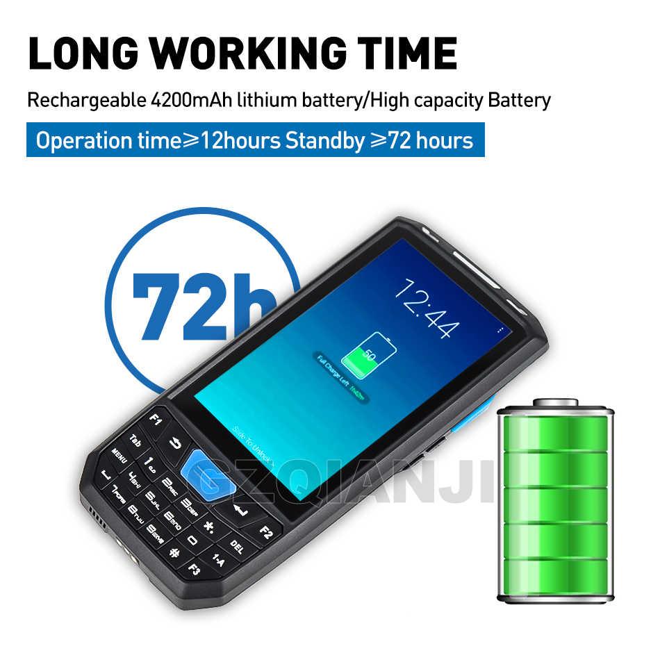 КПК прочный портативный терминал Android 7,0 считыватель штрих-кодов сканер 1D лазер 2D QR сборщик данных Honeywell NFC Функция PDA 4G wifi