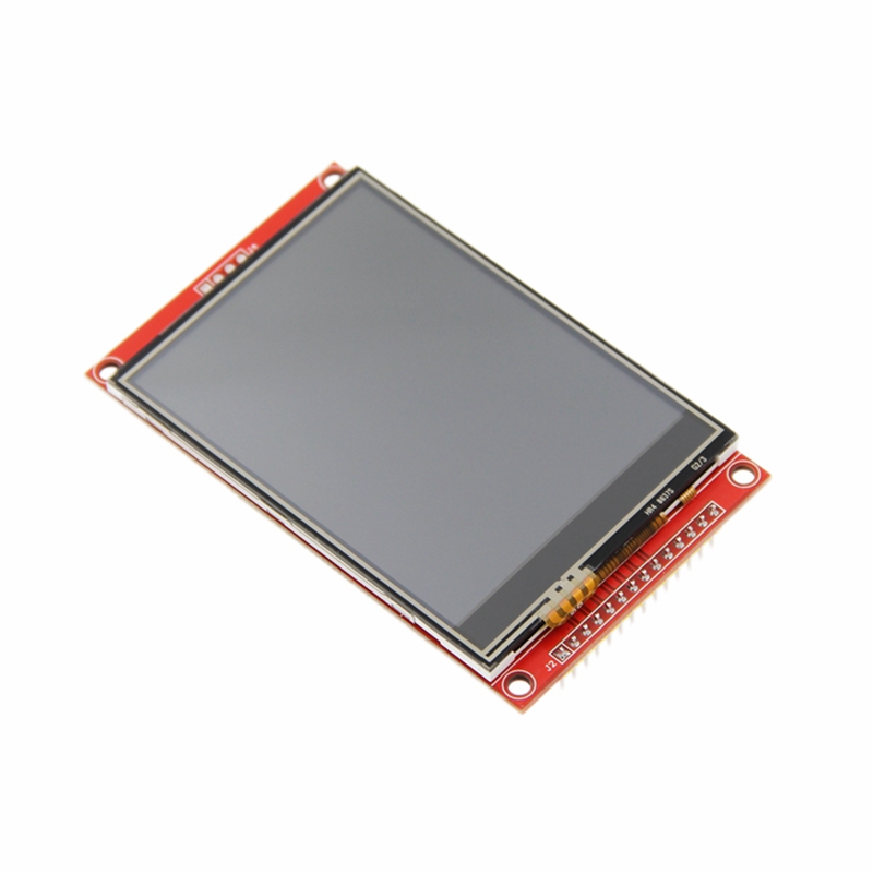 FULL-3.2 Inch 320x240 MCU SPI Serial TFT LCD Module Display Screen With Press Panel Build-In Driver ILI9341