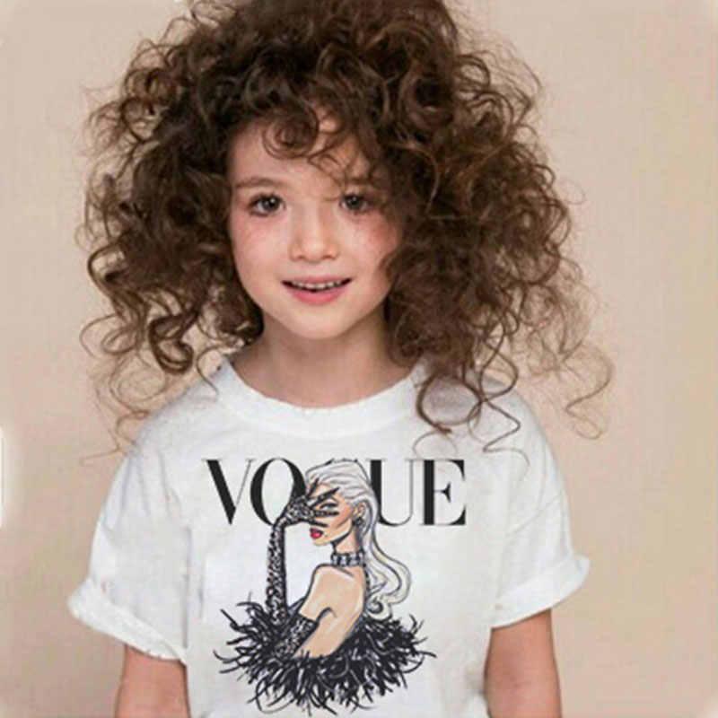 Kawaii Vogue Princesse Imprimer Filles Chemises Harajuku