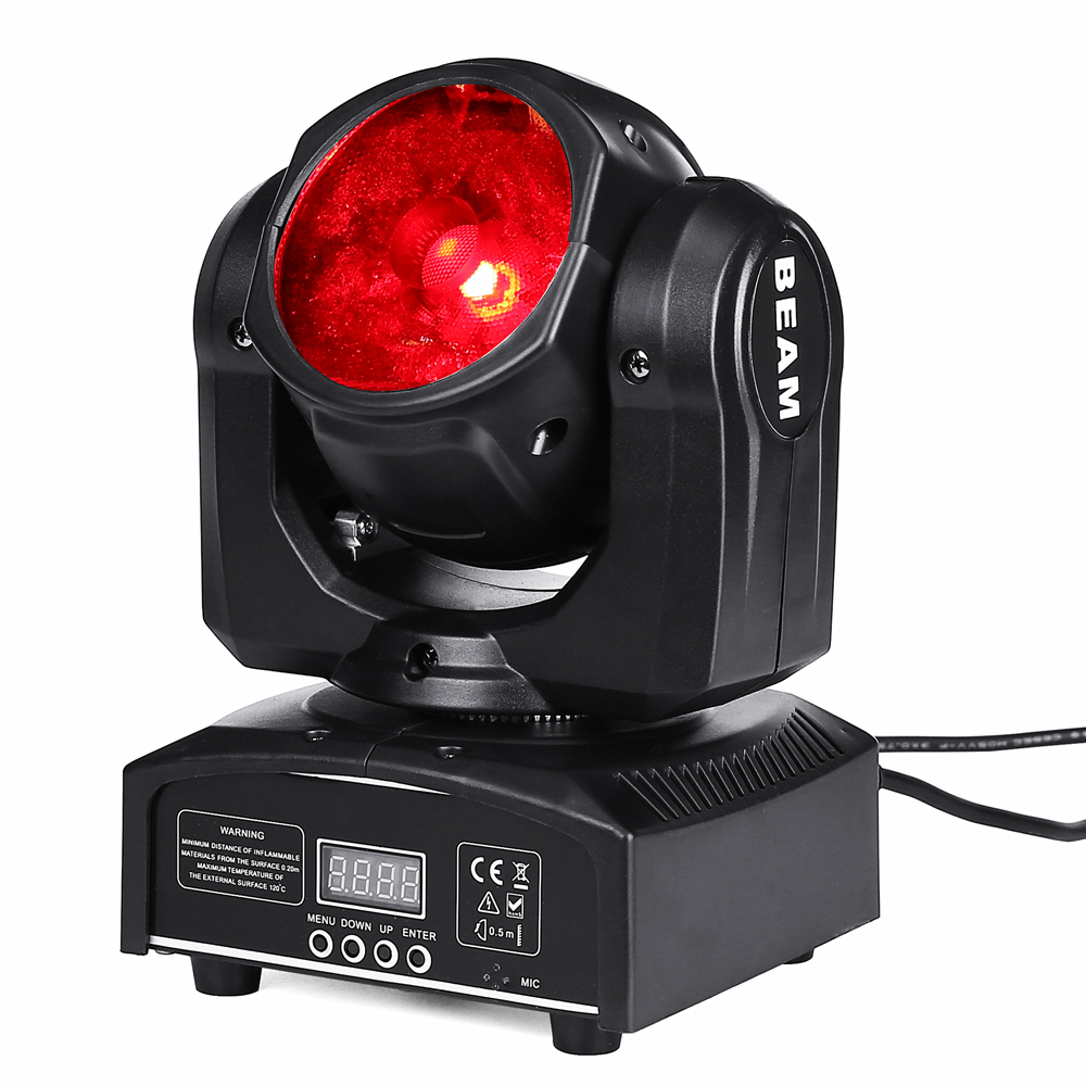 60W LED Spot Lampu Moving Head DJ Controller LED Lampu 60W RGBW 4in1 Spot Beam Mini LED lampu Moving Head