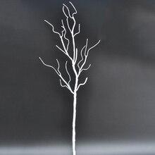 Свадебные украшения павлин Коралл пена ветви искусственные растения сушеное дерево