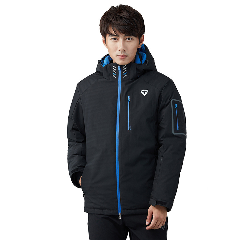 Autumn And Winter Youth Men's Outdoor Sports Ski Suit Wind-Resistant Warm Mountaineering Raincoat Jacket