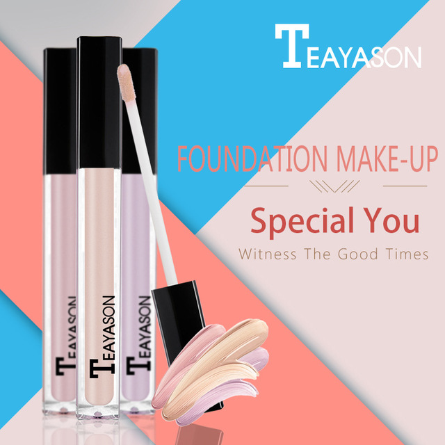 Face Makeup Liquid Concealer Eye Dark Cream Corrector Waterproof Long Last Base Concealer Brighten Primer BB Cream Cosmetics Set 5