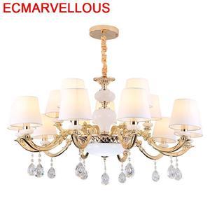 Image 1 - Hanglampen Lustre E Pendente Para Sala De Jantar Crystal Lampen Modern Suspendu Suspension Luminaire Hanging Lamp Pendant Light