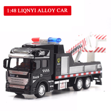 Baby Gifts 1:48 Alloy Car Police Rescue Vehicle Pull-back Toy 3 Styles Optional Model Toys for Children