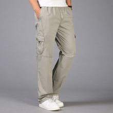 Spring Summer Fashion Men Pants Casual Cotton Long Pants Straight Joggers Male Fit Plus Size 5xl 6xl Business Trousers for Men