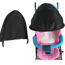 Baby Stroller Sun Visor Carriage Sun Shade Canopy Cover for Prams Pushchair Stroller Accessories Protection Hood(China)