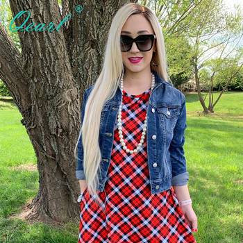 Light Blonde Lace Front Wigs Ombre 4#/60# Human Hair Wig for Women Preplucked 150% 180% 13x4 Brazilian Straight Remy Hair Qearl long human hair lace front wig 13x4 ombre 2 60 color brazilian virgin hair straight blonde lace front wigs 150 180 density qearl