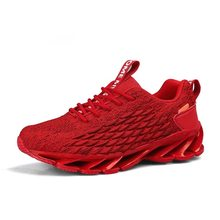 Merk Hot Stijlvolle Mannen Sport Loopschoenen Comfortabele Luchtkussen Sneakers Outdoor Holle Jogging Training Footwear Big Size 46(China)