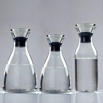 Drinkware Jug High Borosilicate Glass Container Bottle Cold Hot Kettle Restaurant Home Lemon Juice Tea Milk Cup Accessories Tool