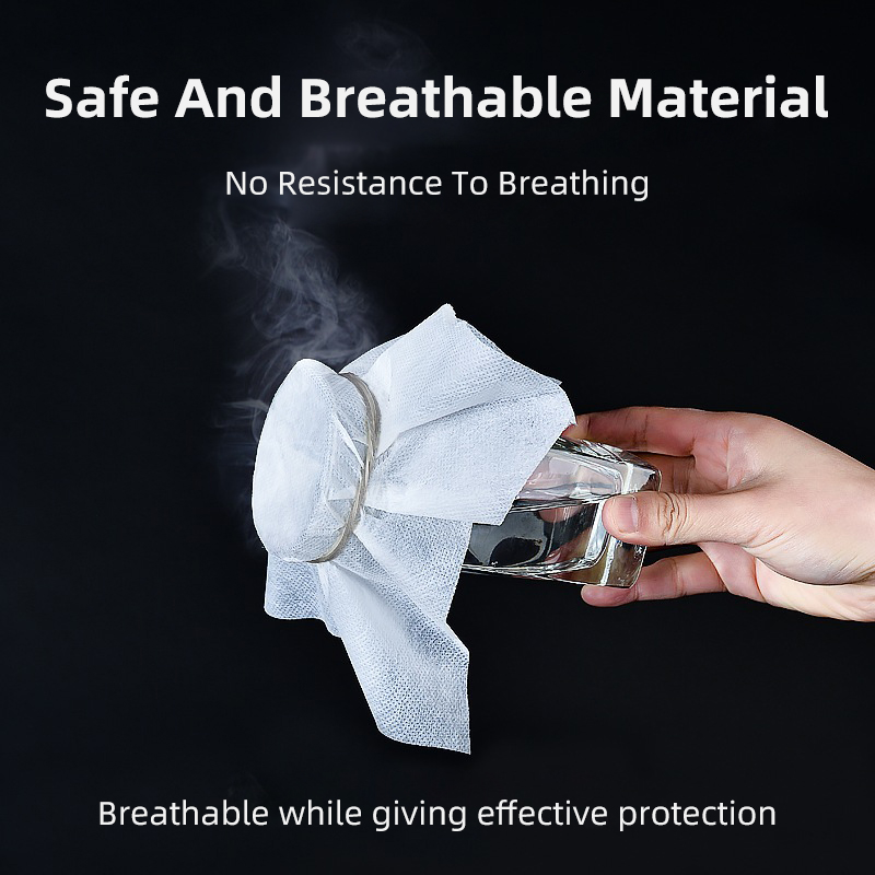 Washable Reusable Face Mask Black Anti Fog Dust Pollution PM2.5 Filter Mouth Cover Protection Breathable Cotton Cloth Face Mask 2