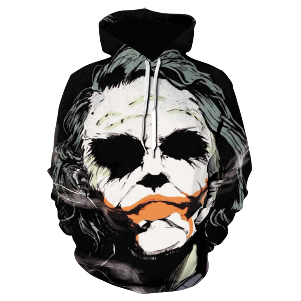 PLstar Cosmos Drop Shipping Funny Vendetta Mask Hacker Image 3d Printed Hoodie For Women Men  Hoodies/Sweatshirt Clown