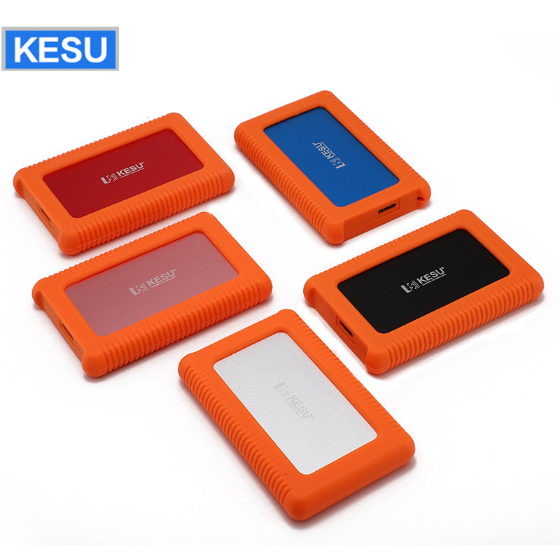 Анти-вибрации и удароустойчивая мобильный жесткий диск 160G 500G 1 ТБ хранения USB3.0 Портативный внешний изготовленным на заказ логосом для PC/Mac ...