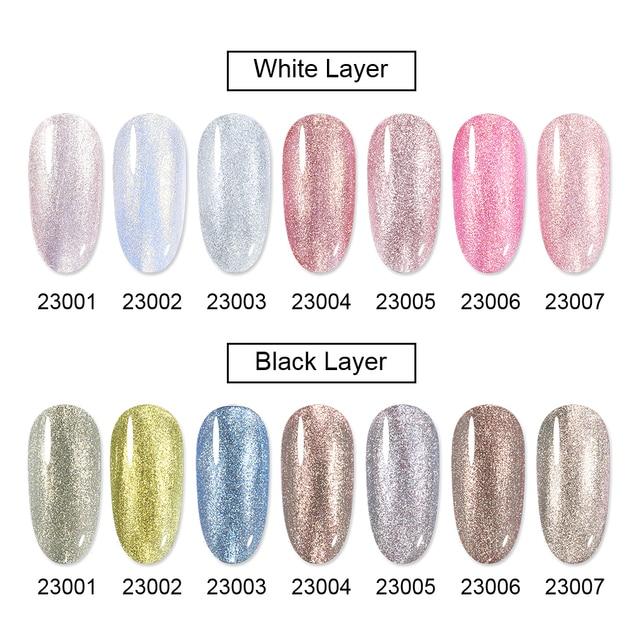 Elite99 10ml Perle Metall UV Gel Lack Perle Shell Farbe Gel Nagellack Tränken Weg Glitter Nail art Gel polnischen Lack Lack