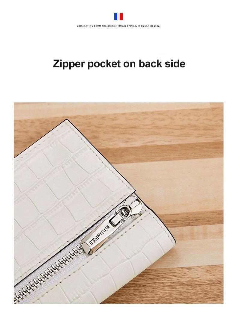 padrão casal carteira com zíper bolso moeda