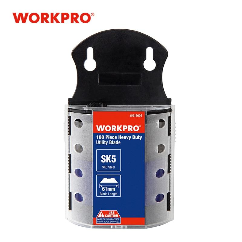 Workpro Coltelli Utility Lame Lame Originali Heavy Duty Lame per  Coltello SK5 Acciaio Inox Lame di Coltello 100 Pz/lotto-in Coltelli da  Attrezzi su