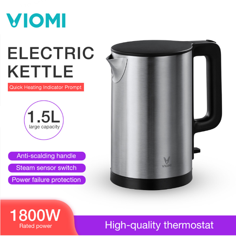 VIOMI Pro 1800W 1.5L Electric Kettle Intelligent Thermostat Anti-scalding Household 304 Stainless Steel Electric Kettle