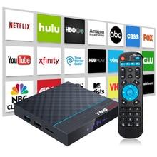 8K 24fps Set Top Box Android 9.0 9 TV BOX Amlogic S905X3 4G G31 MP2 HDR USB3.0 Bluetooth4.0