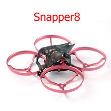 1/2PCS Snapper8 85mm Wheelbase FPV Racing Frame Drone Whoop Rack w/ Camera Canopy Compatible for Mobula7 HD Convert to