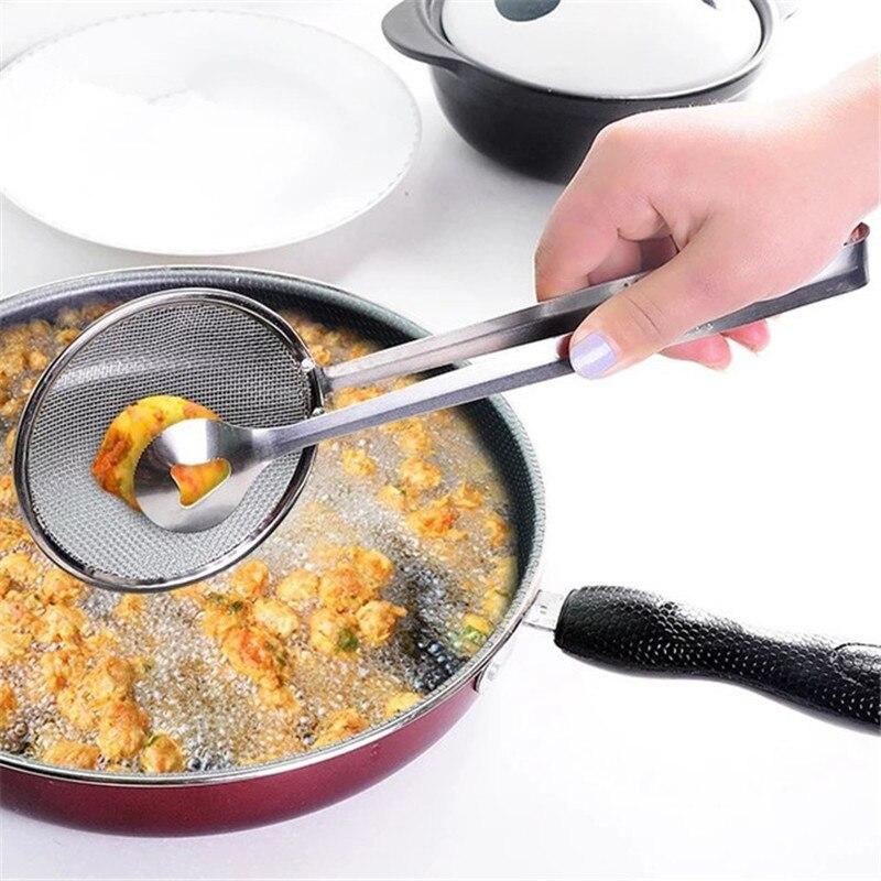 Кухонные аксессуары ситечко для французской фри дуршлаг ложка