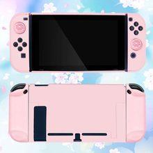 La piel para la caja de interruptor de Nintendo cubierta alegría Con Shell accesorios de juego de alegría-con juego de engranajes Keycap agarre Nintedo interruptor de Control